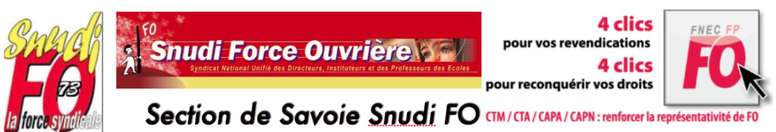 Snudi FO Savoie